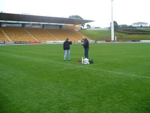 NZSTI were commissioned by the organisers of the Rugby World Cup 2011 to develop surface performance standards for the match and training venues.