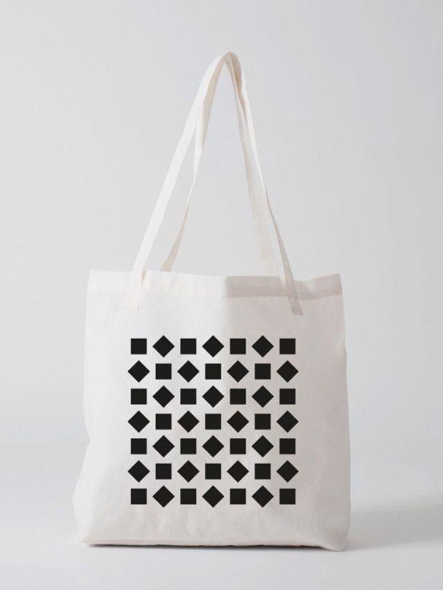 Statement Bag - Shapes and Flowers Bag by VIDA VIDA NBFpZSLD