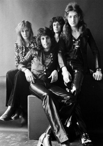 Queen, one of the greatest bands Ever! All hail these four