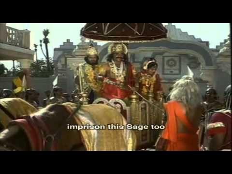 Mahabharata Eps-10 with English Subtitles (Kuns is king and Akashwani about Krishna) - YouTube