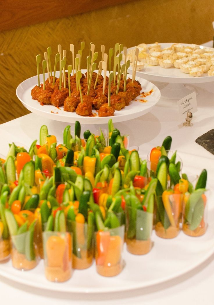 1000 Ideas About Wedding Reception Appetizers On