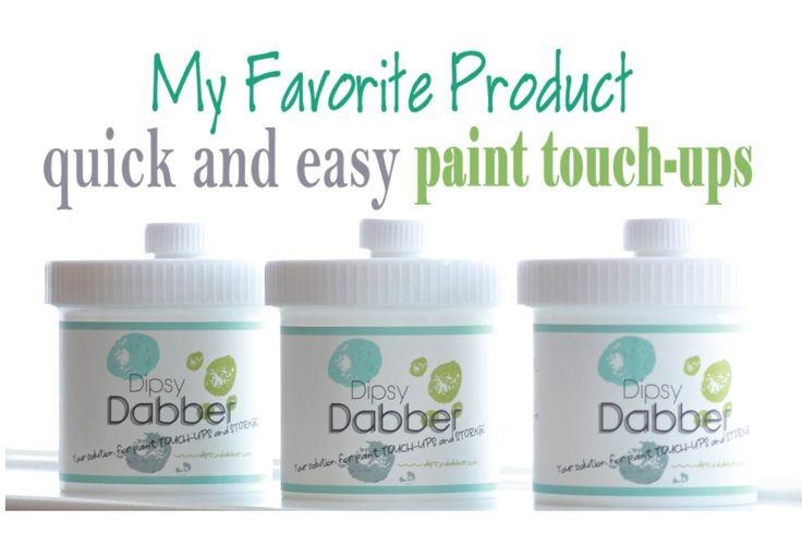 dipsy dabber - paint storage solution