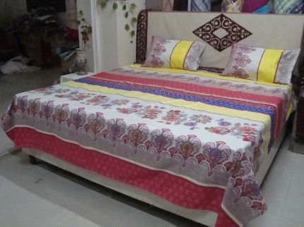 Adishma Bed Sheet With 2 Pillow Covers Buy Now : http://www.adishma.com/beding/bed-sheets/adishma-bed-sheet-with-2-pillow-covers.html?utm_content=buffer9a31e&utm_medium=social&utm_source=pinterest.com&utm_campaign=buffer #HomeAccessories