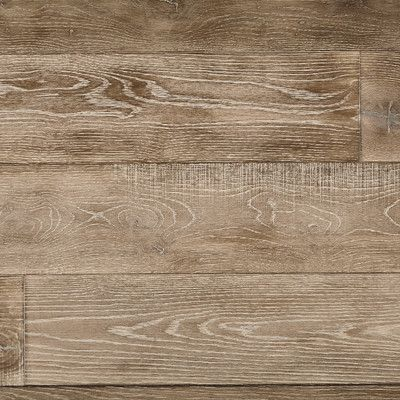 "Mannington Antigua 7"" White Oak Hardwood Flooring in Linen"