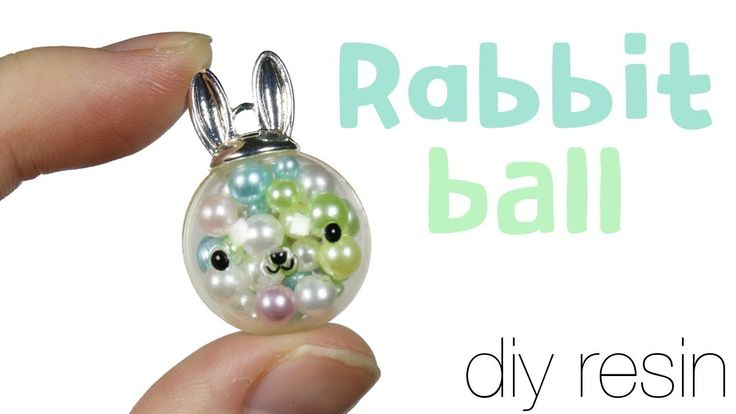 How to DIY miniature Bunny Ornament/Orb Resin Tutorial