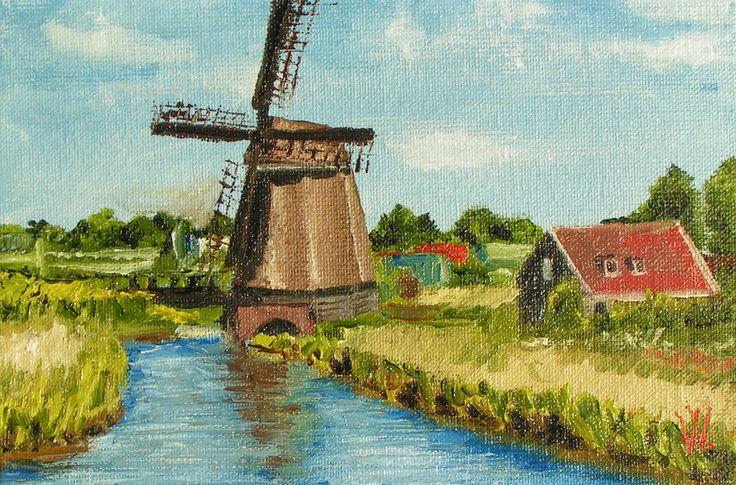 Holland mill #2 by methosw.deviantart.com on @deviantART