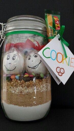 Cookie-Backmischung zum Verschenken