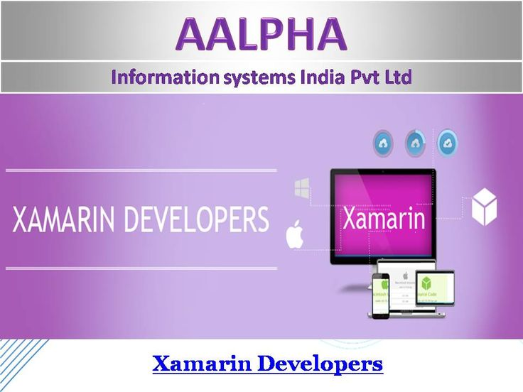 Hire Xamarin Developers give your apps an x factor with Xamarin Build the cheapest yet flawless cross-platform native applicationsin no time with the brilliance of Xamarin. Xamarin Studio is an updated-sophisticated IDE offering a bagful of features for creating iOS, Android, Windows and Mac applications. One can use the smart code editor, debugger for the native platform integration with all platforms and devices. Enjoy the code reusability feature of Xamarin that binds the same APIs and UI…