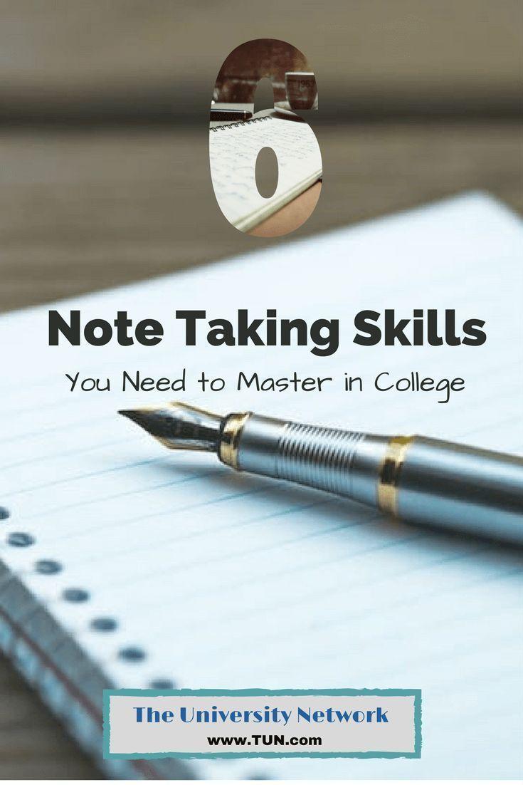 Notetaking | Academic Skills Center