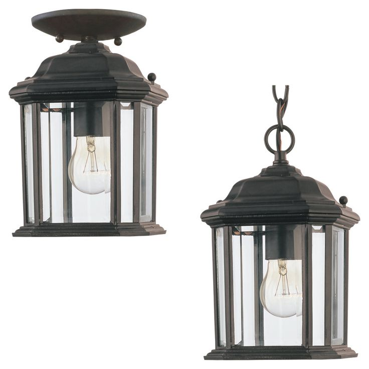 Add a touch of class to your patio or deck with this outdoor pendant light