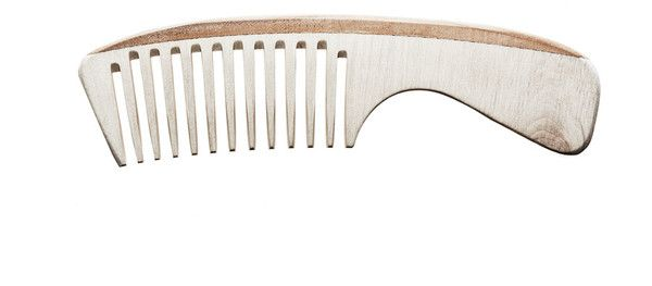 Handmade Wood Handle Comb - Wood comb with handle. 7 inches total length, 4 inch handle. Made of locally harvested German ash wood. Cut and smoothed by hand in Germany by 4 generations of master comb makers. (more info) $26.90