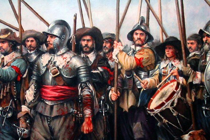 Imperial pikemen, Thirty Years War