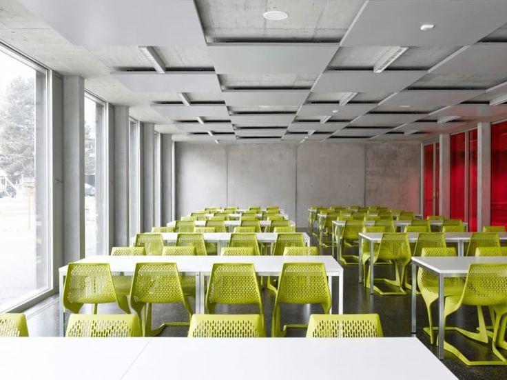 Bonnard Woeffray Architectes Hannes Henz Technical School Visp