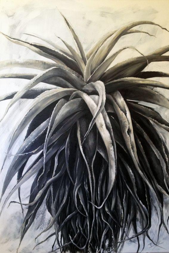 Shades of Grey Oil on Canvas (1.2m x 80cm)