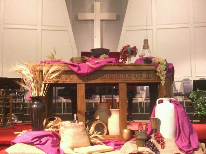 G And Wheat Holy Ventures Pinterest Communion Church Altar Decorations