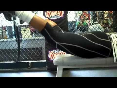 Backside workout.