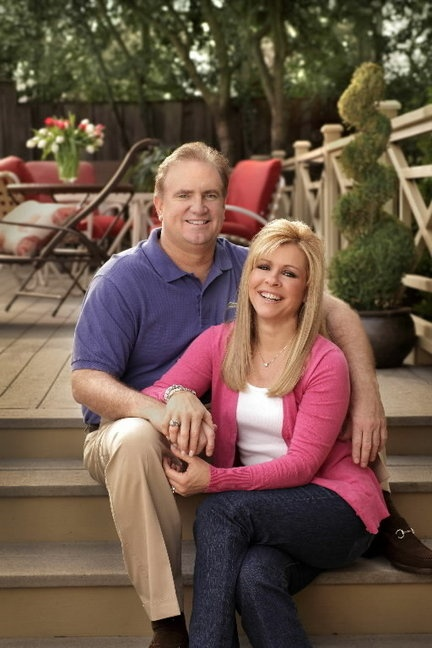"Sean and Leigh Anne Tuohy, the real-life couple who inspired ""The Blind Side"" book and movie,"