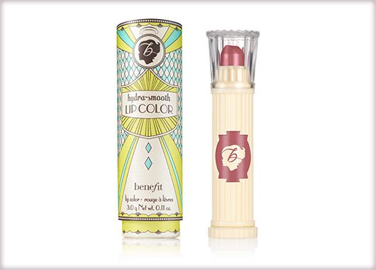 Benefit Cosmetics - new! hydra-smooth lip colour #benefitgals
