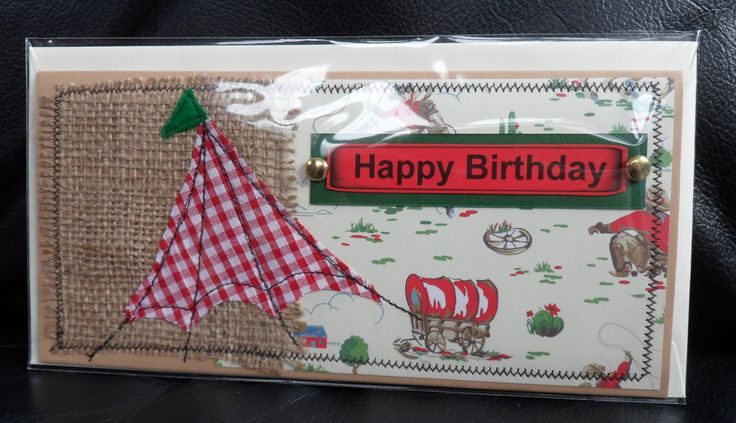 Fabric shabby chic Cath Kidston paper card