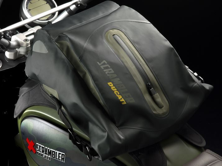 DUCATI SCRAMBLER URBAN ENDURO WATERPROOF REAR BAG - Google Search