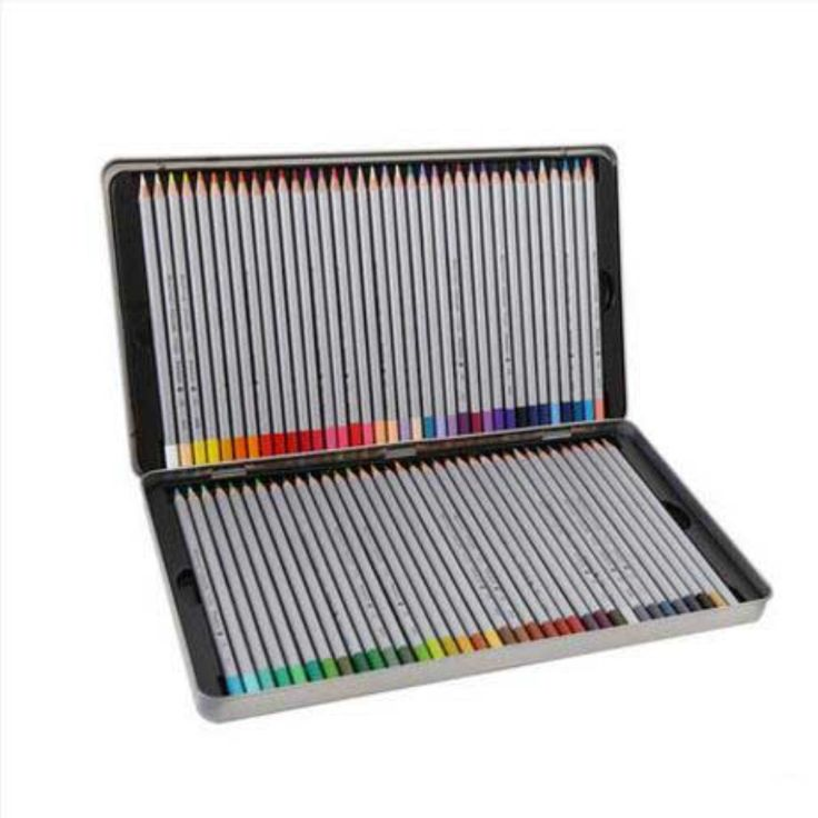 Draw profesional pintura al de color 24 36 48 72 marco de color color plomo caja pluma lapices/B351118