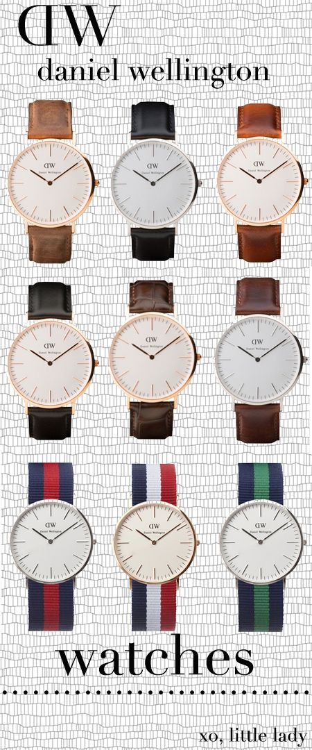daniel wellington. #watches