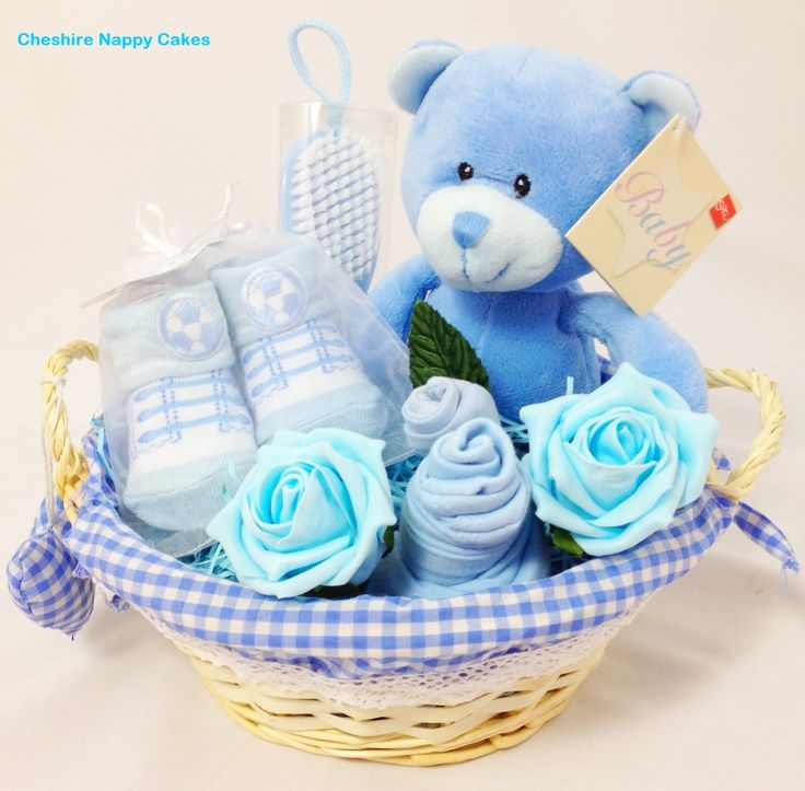 14 best baby gift baskets images on pinterest baby showers baby boys blue cute new baby gift basket our boys blue cute new baby gift basket negle Choice Image