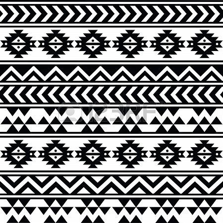 pattern azteque