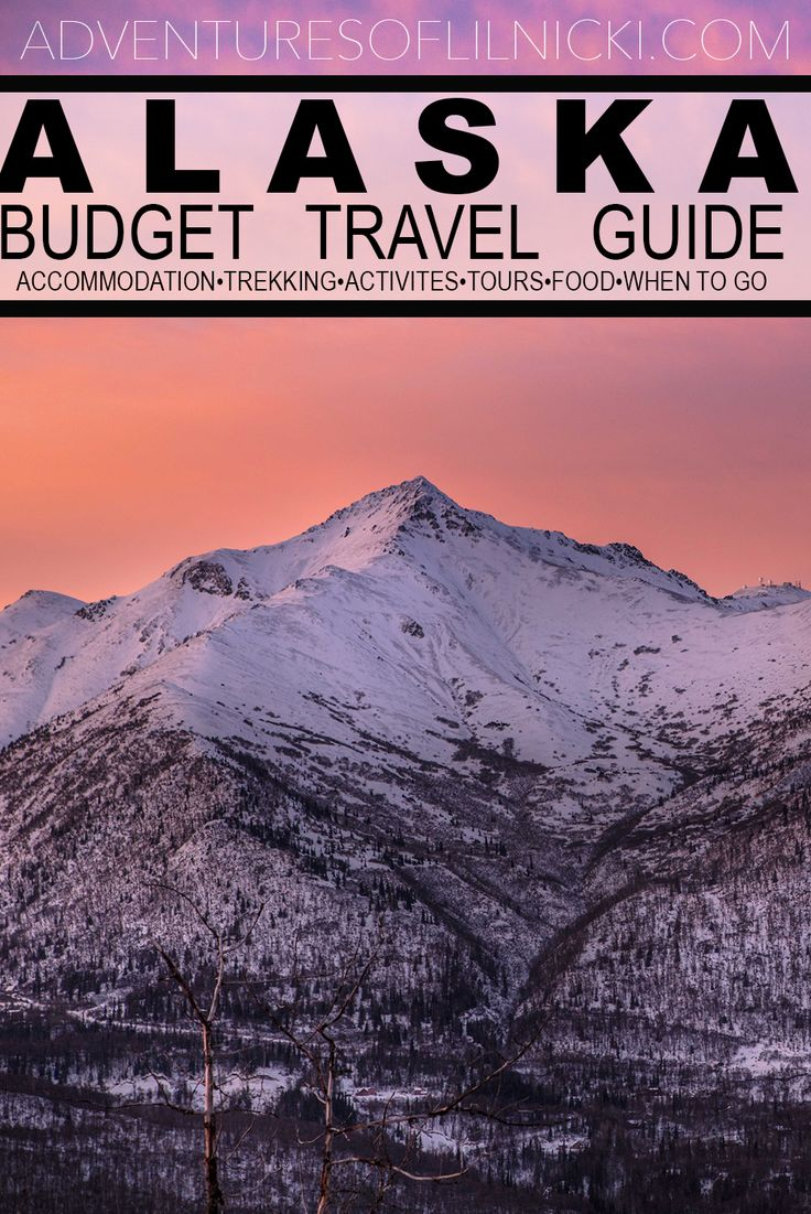 Make your money go further and make the most of your trip to Alaska! Recommendations to help you travel Alaska on a budget.  Pictured: Eagle River, AK