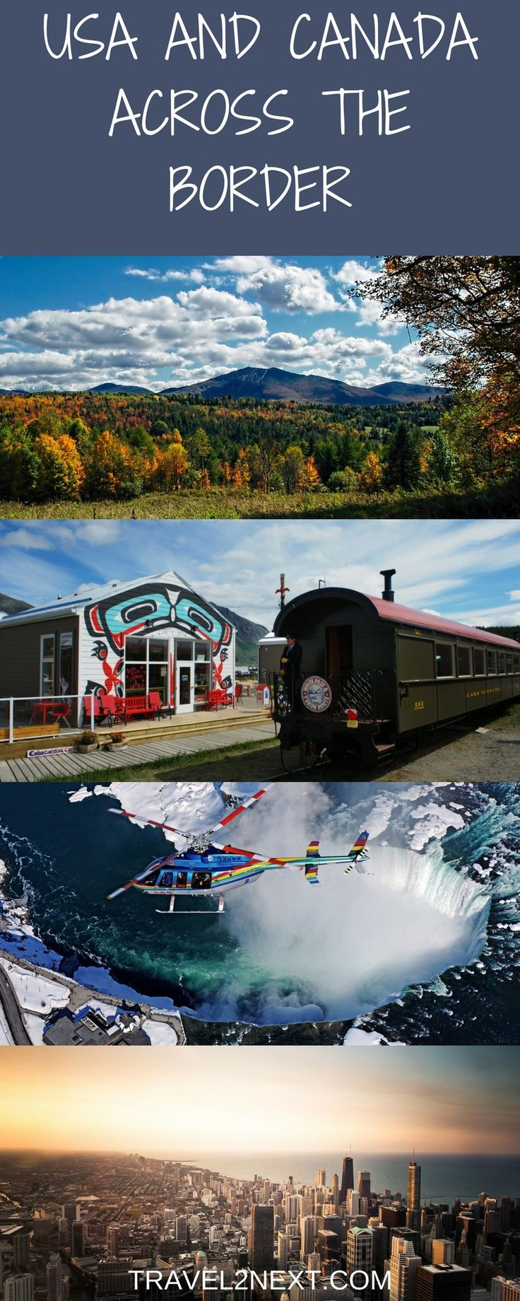 USA and Canada Destination Pairing – 6 Top Spots. Planning a trip to the USA? Why not consider destination pairing, where you visit the United States of America but hop across the border to appreciate a Canadian take on a similar – or contrasting – destin