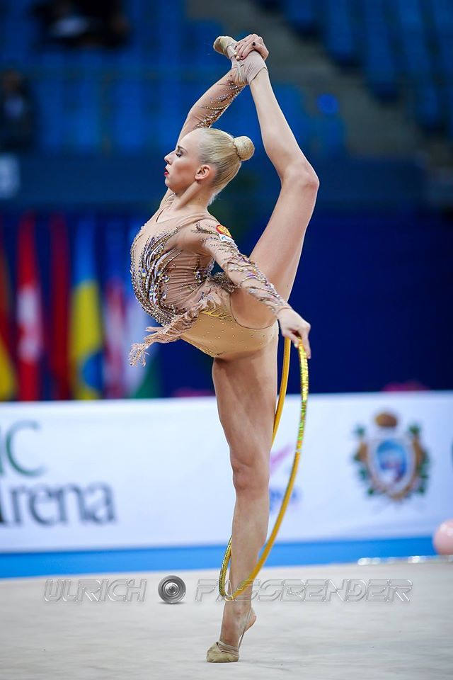 Yana Kudryavtseva (Russia) won gold in all-around at World Cup (Pesaro) 2016