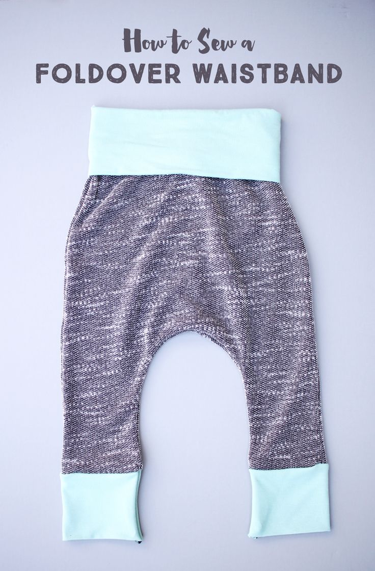 These are the coziest baby pants! Free pattern and tutorial!