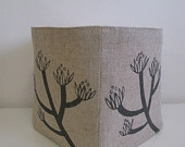 Twig Tub Storage Container- Blossom in Pale Blue. via Etsy. (Made in Canada)