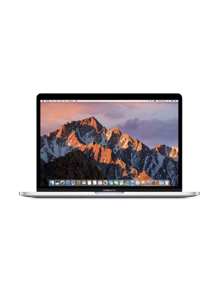 """Apple 13"""" MacBook Pro, Retina Display, 2.3GHz Intel Core i5 Dual Core, 8GB RAM, 128GB SSD, Silver, MPXR2LL/A (Newest Version)"""
