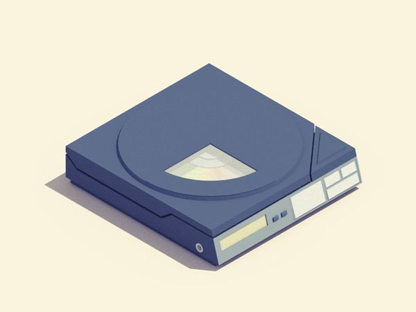 Gorgeous GIFs That Bring Old Tech Back To Life - UltraLinx by Guillaume Kurkdjian