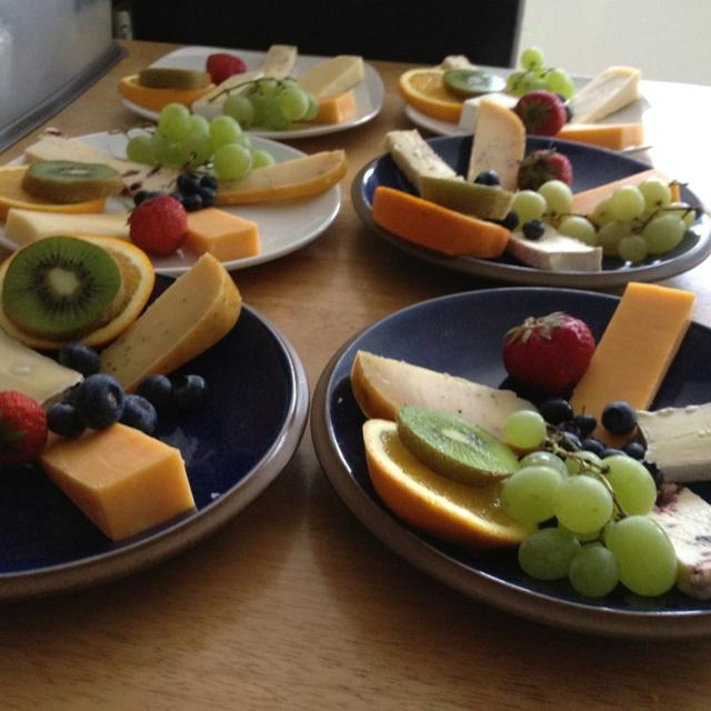 Prepping cheese plates Ballinsheen House Lisdoonvarna