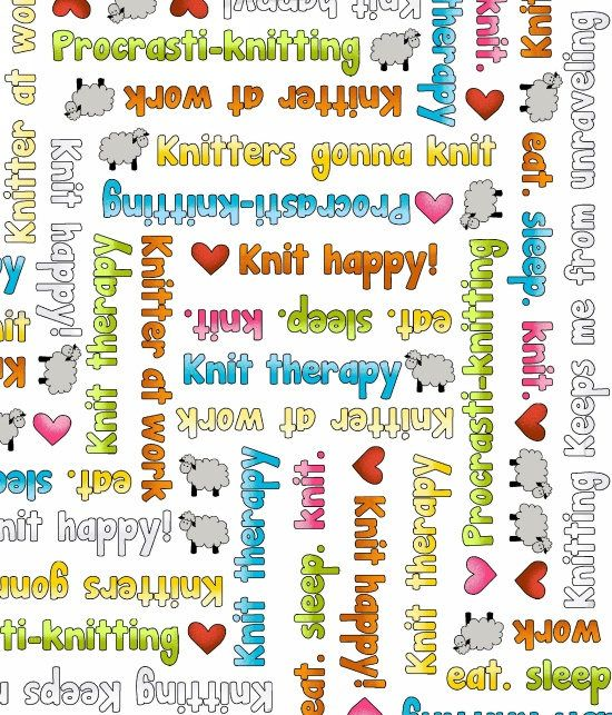 Pin By Storytelling On Happy Fabric: Knit Happy, Knitting Fabric, Fabric With Words And Sheep