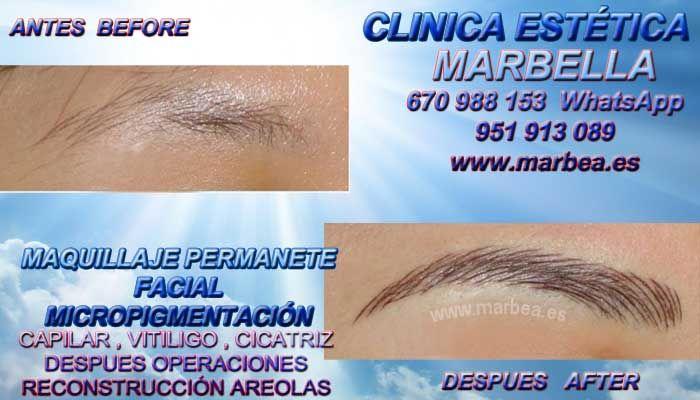 MICROBLADING MARBELLA MICROBLADING en Marbella cejas 3D pelo & pelo MICROBLADING ojos o en Algeciras