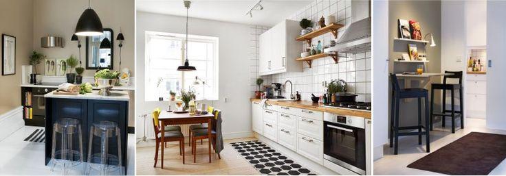Цвет стен на кухне в скандинавском стиле