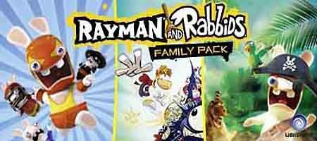 Rayman and Rabbids Family Pack 3DS ROM & CIA Download (Region Free) - https://www.ziperto.com/rayman-and-rabbids-family-pack-3ds-rom/