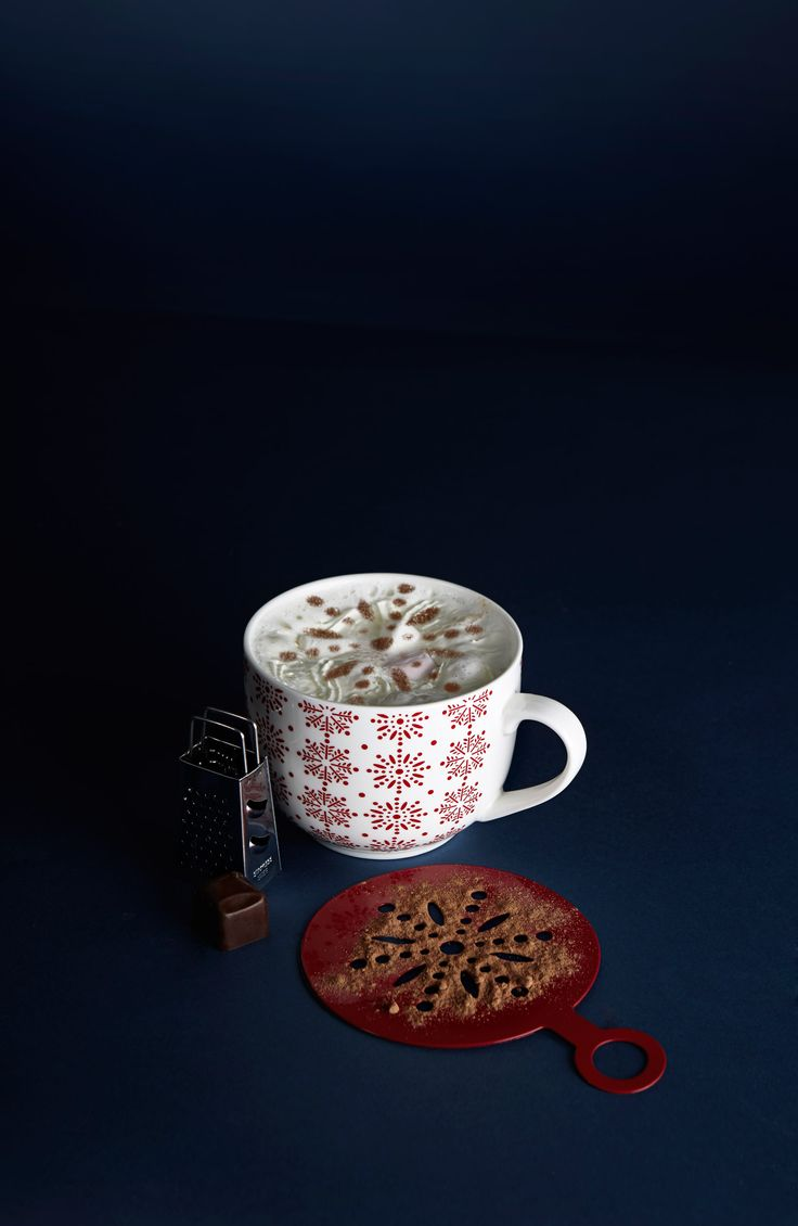 Make it special with cocoa in a Christmas mug