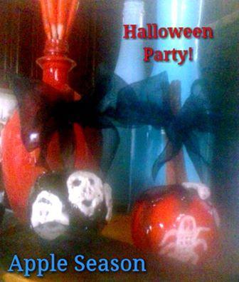 Halloween party apple...by Apple Season