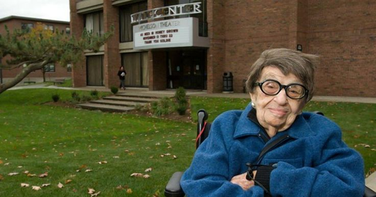 THE ASSOCIATED PRESS, July 9, 2016 | Goldie Michelson was a month short of her 114th birthday. (Clark University)