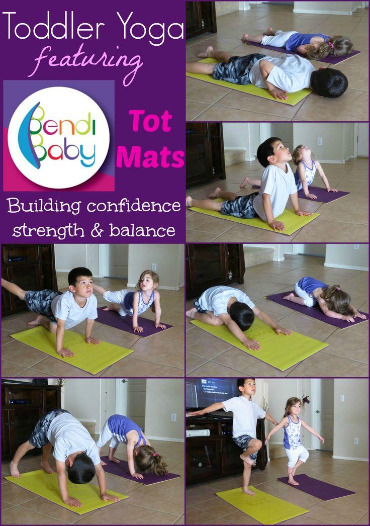 Toddler Yoga - Mommy and Me Yoga - The Family Yoga Lifestyle - Bendi Baby @Ben Digman Baby Yoga Mats