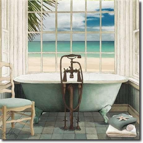 oceanview i by elizabeth medley art print