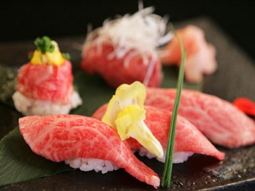 Kobe Beef Sushi