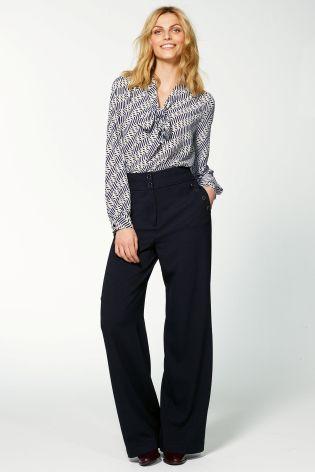 Buy Tie Neck Top from the Next UK online shop