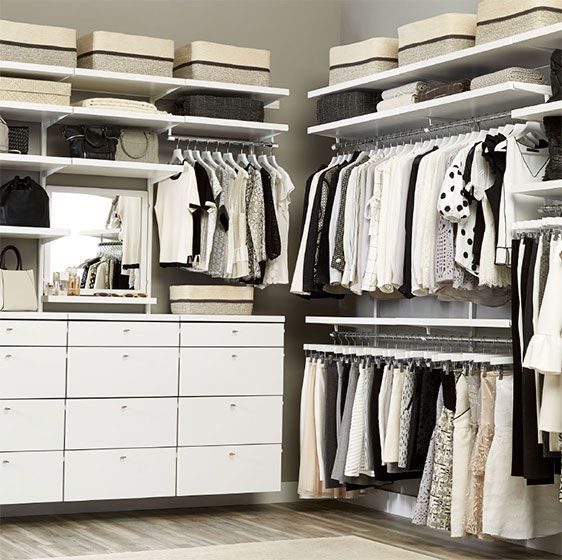 Walk In Wardrobes The Perfect Clothes Solution: Best 25+ Elfa Closet Ideas On Pinterest