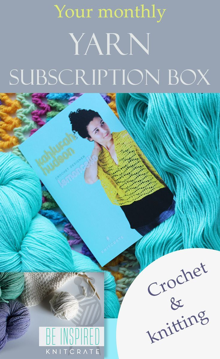 Receive A Monthly Subscription Box Of Lovely Quality Yarn Often Hand Dyed Showing One Of The Boxes Yarnlover Yarn Yarn Club Crochet Videos Tutorials Yarn