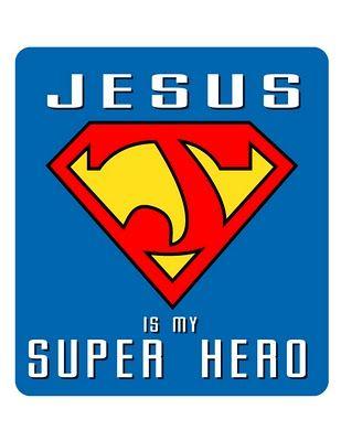 superhero jesus pic